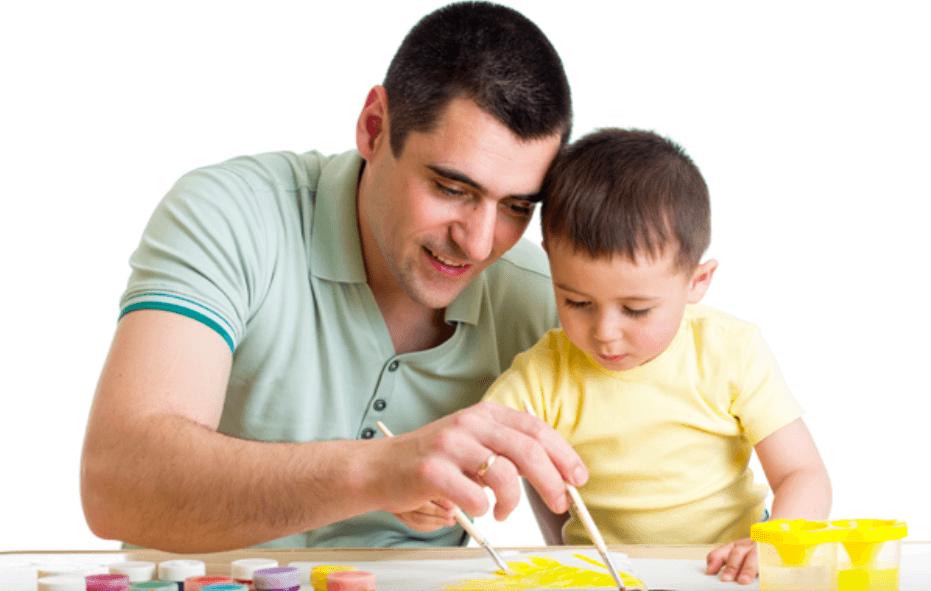 子供は親の背中を見て育つ